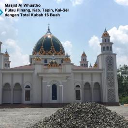 kubah masjid aluminium